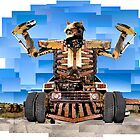 Almighty Junk Yard Monster by Walshy