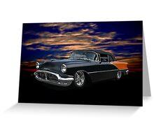 1956 Oldsmobile Custom Convertible Greeting Card
