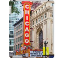 The Chicago theatre, Chicago, Illinois, USA iPad Case/Skin
