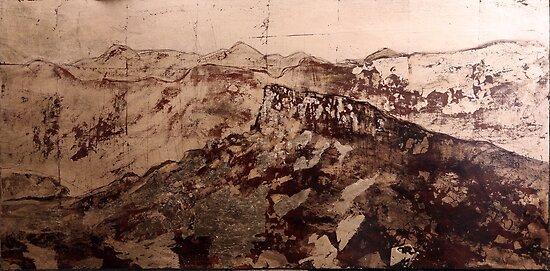 Golden Landscape 1; Grampians by Gareth Colliton