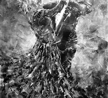 Ballroom Dancing - Black & White Art by Ballet Dance-Artist