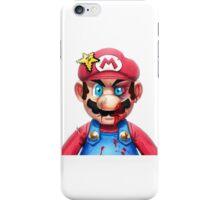 Mario smashed iPhone Case/Skin