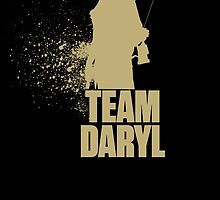 Team Daryl - TWD Addicted Nerdy Must Have by peetamark