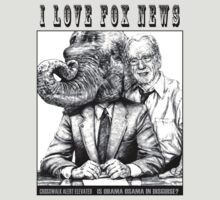I LOVE FOX NEWS by MH Heintz