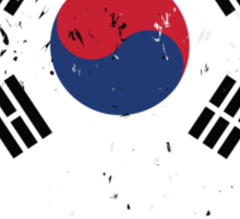 Flag of South Korea Sticker