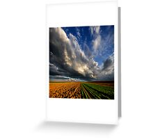 Power To The Sky Greeting Card