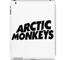 Arctic Monkeys Black logo AM iPad Case/Skin