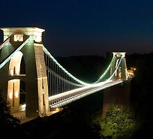 Clifton Suspension Bridge - Bristol, England by Simon Pow