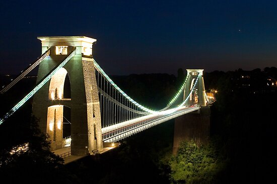 Clifton Suspension Bridge - Bristol, England by Simon Pow