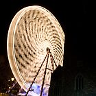 Ferris Wheel - Castle Park, Bristol England  by Simon Pow