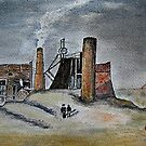 Wallsend Pit 1838 by Colin Cartwright