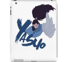 Yasuo minimal design iPad Case/Skin