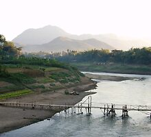 Mekong River by Shutta