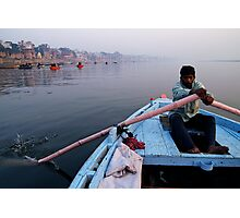 Morning on the Ganges Photographic Print
