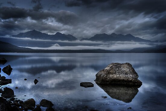 Lake Manapouri, New Zealand by NickMonk