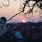 german sunset by kristana
