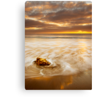 The Coast is Always Changing Canvas Print