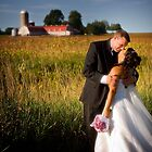 couple and farm by Lorne Chesal