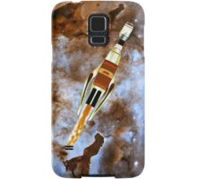 Two Galactic Cruiser/Fighters at NGC 3372 - all products Samsung Galaxy Case/Skin