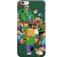 Minecraft love iPhone Case/Skin