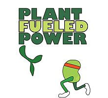 Runner Bean - Plant Fueled Power Photographic Print
