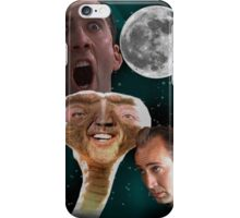 "Nicolas Cage - ""Wolf Shirt"" iPhone Case/Skin"