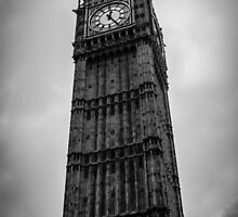 London, Big Ben by Andrea Mazzocchetti