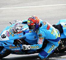 Chris Walker (Stalker)  Rizla Suzuki Superbikes. by Love Through The Lens