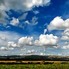 Manawatu Clouds by Peter Kurdulija