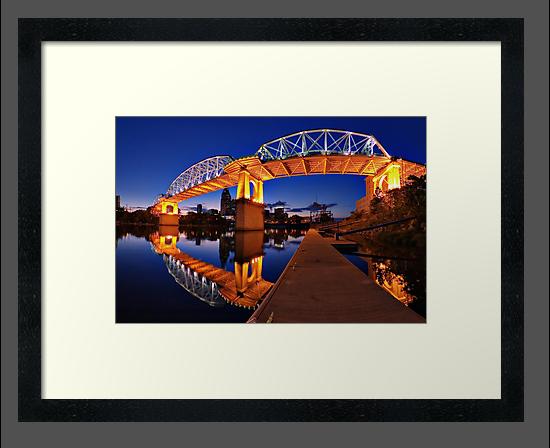 The Shelby Street Bridge by joshunter