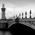 Parisian Bridge by Caroline Fournier