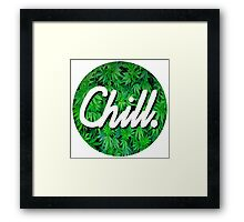 Chill Circle 2 Framed Print