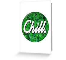 Chill Circle 2 Greeting Card