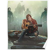 Ellie Playing the Guitar - TLOU Poster