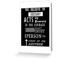 Roth Quote Book - DVRGNT Greeting Card