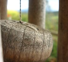 wooden wind chime by vikk