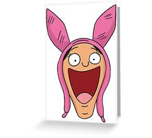 Louise Belcher Greeting Card