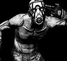 Psycho Borderlands - Nerdy Cool Design by peetamark