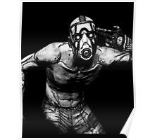 Psycho Borderlands - Nerdy Cool Design Poster