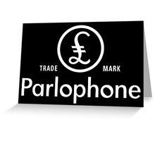 British Invasion - Parlophone Records (White) Greeting Card