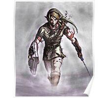 Link Walking - the Legend of Zelda Poster