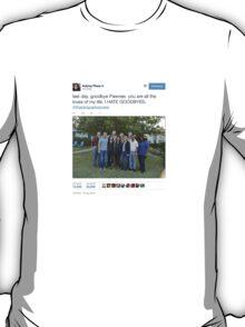 Aubrey Plaza's Parks and Rec Tweet T-Shirt