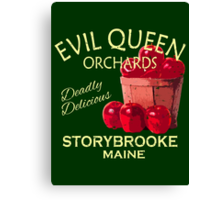 Evil Queen Orchards Canvas Print