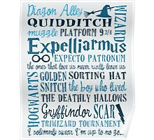 Harry Potter Addicted - Quotes Poster