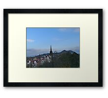 Church Spire and Little Holland Framed Print