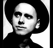 Depeche Mode : Martin from 101 poster - 2 by Luc Lambert
