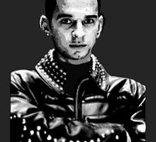 Depeche Mode : Dave from 101 poster by Luc Lambert