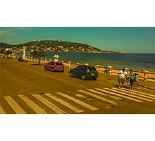 Beautiful Day in Piriapolis Uruguay Photographic Print