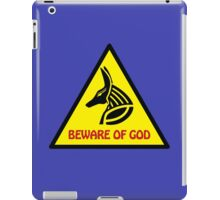 Beware Of God iPad Case/Skin