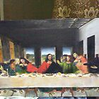 Copywork- THE LAST SUPPER (minature) Oil On Canvas by life4paint